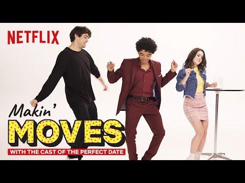 Noah Centineo & Odiseas Georgiadis Judge Laura Marano's Dance Skills   Makin' Moves   Netflix
