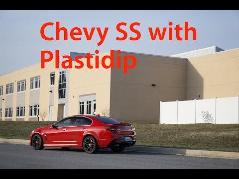 Chevrolet SS | Plastidip (Holden VFII Commodore | SSV Redline)