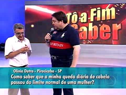 Dr. José Marcos Pereira - Faustão  -  Proteses Capilares GIC