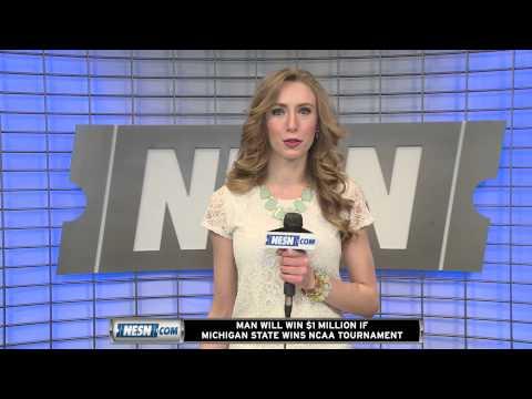 Video: Man Will Win $1 Million If Michigan State Wins NCAA Tournament