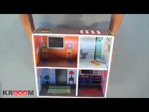 """3D-конструктор Krooom """"Кукольный дом Мюриель"""""""