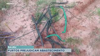 Furtos de poços prejudicam abastecimento de água em Bauru
