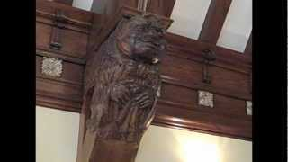 Historical Gem: The Grotesques of the Upper Barristers' Lounge
