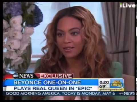 Beyonc - Beyonc discuses her role as 'Queen Tara' in the upcoming animated movie 'Epic', opens up about being a mum to Blue Ivy and why life is different right now.