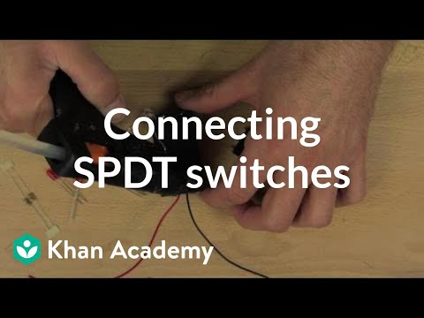 Stupendous Connect The Spdt Switches Video Khan Academy Wiring Digital Resources Remcakbiperorg