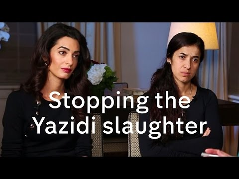 Video Nadia Murad and Amal Clooney interview on Yazidis, President Assad and migration crisis download in MP3, 3GP, MP4, WEBM, AVI, FLV January 2017