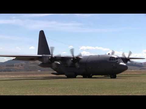 Royal New Zealand Air Force exercises...