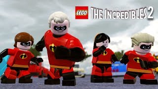 Video LEGO THE INCREDIBLES 2 All Cutscenes (Game Movie) 1080p 60FPS MP3, 3GP, MP4, WEBM, AVI, FLV Agustus 2018