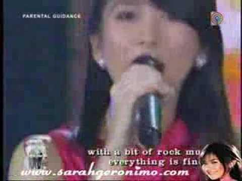 Tekst piosenki Sarah Geronimo and Yeng Constantino - Dancing Queen (ABBA cover) po polsku