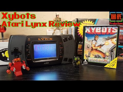 Xybots Atari Lynx Review | BRAND NEW RETRO VIDEO GAME UNBOXING!