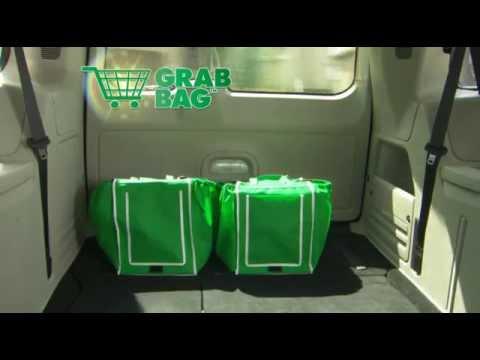 Grab Bag Shopping Cart Bags [Set of 2]