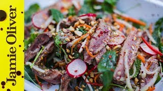 Oriental Beef Salad | Food Busker