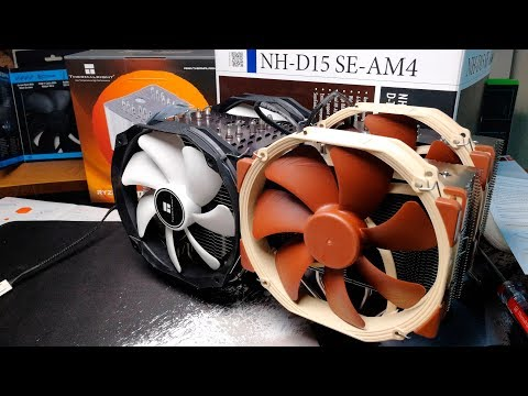 Новый кулер Noctua NH-D15 SE-AM4 Vs Thermalright Aro-M14G (Macho Rev.b)