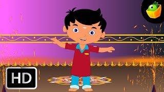 Deepavali - Happy Diwali - Children Tamil Nursery Rhymes Cartoon Songs Chellame Chellam Volume 2