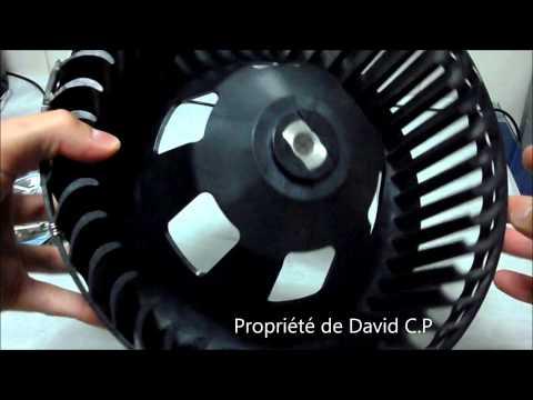 comment reparer ventilation sur twingo