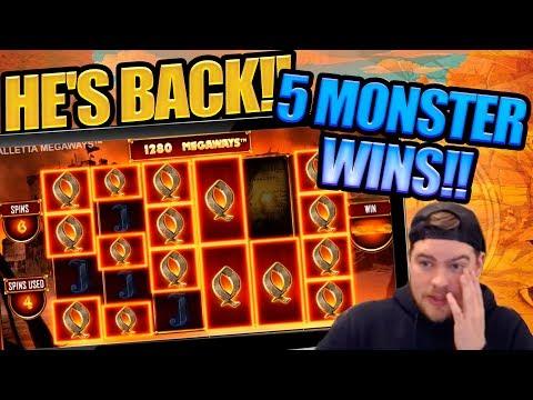 5 MASSIVE WINS!! Scotty's Back In a BIG Way!!