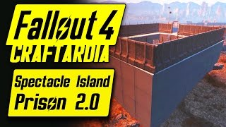 Fallout 4 Spectacle Island Prison 2.0 - Base Building Tour - Fallout 4 Settlement Building [PC]