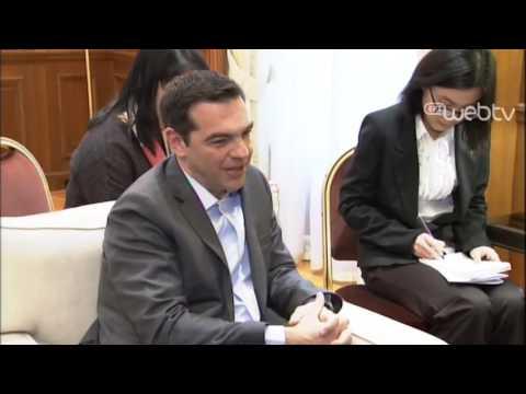 Συνάντηση με τον Υπουργό Εξωτερικών της Λαϊκής Δημοκρατίας της Κίνας, κ. Wang Yi