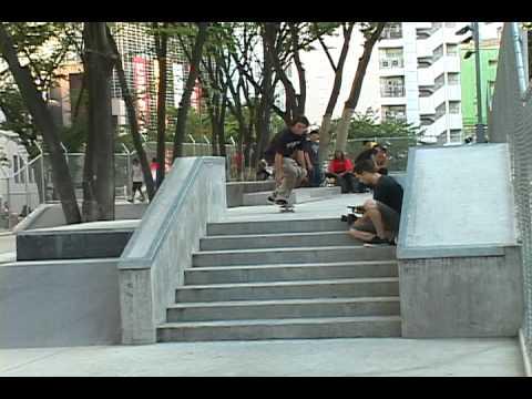 LRG RESEARCH JAPAN TOUR - Miyashita skate park demo 2011