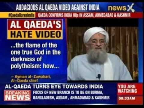 Indian youth - Audacious Al queda video against India. For More information on this news visit : http://www.newsx.com/ Connect with us on Social platform at : http://www.fa...