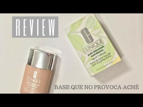 REVIEW Base De CLINIQUE | Perfecta CONTRA EL ACNÉ
