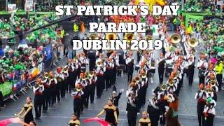 St Patricks day parade Dublin Ireland 2019