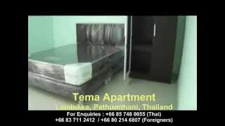 Pathum Thani Thailand  city images : Tema Apartment in Lamlukka, Pathumthani, Thailand