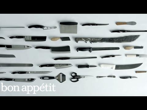 25 Knives, 47 Knife Skills | Bon Appetit