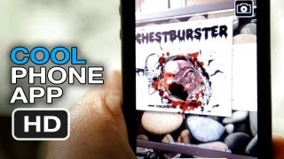 Alien Augmented Reality - Cool Phone App HD