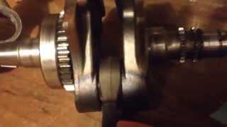 5. hondamatic rubicon 500 inside view of 06 motor/ teardown/ rebuild