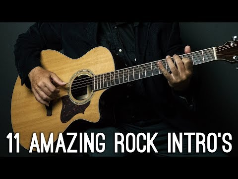 11 Amazing ROCK/METAL songs intros you should know on guitar! - Thời lượng: 4 phút, 47 giây.