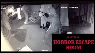 Horror Escape Room - Reactions from the players :)