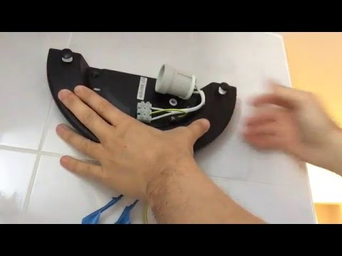 Come montare una plafoniera