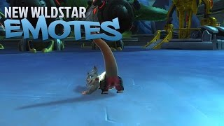 New WildStar Emotes
