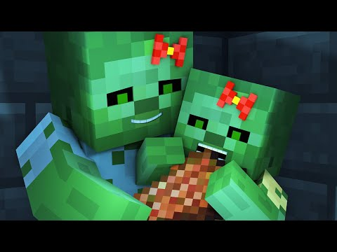 Zombie vs Villager Life 4 - Alien Being Minecraft Animation - Thời lượng: 10:47.