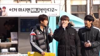 161217 B1A4 미니 팬미팅 노래끝말잇기