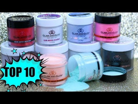 GLAM AND GLITS TOP 10 MUST HAVE COLORS