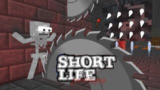 Video Monster School : SHORT LIFE CHALLENGE - Minecraft Animation MP3, 3GP, MP4, WEBM, AVI, FLV Januari 2019