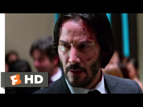 John Wick: Chapter 2 (2017) - Museum Fight Scene (8/10) | Movieclips