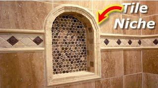 How To Tile Arch Niche - Bathroom Shower Tile Niche Ideas