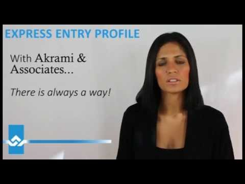 Express Entry to Canada Profile Video