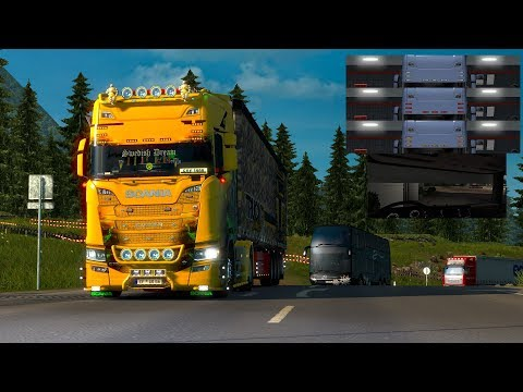 Sunshield Scania Next Gen 1.30