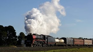 Swan Hill Australia  City pictures : R761 Swan Hill and Echuca Part 2 - June 2016 - Australian Steam