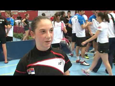 badminton balkansko prvenstvo ekipno