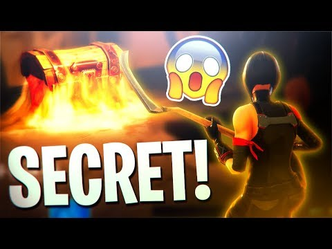 *NEW* SECRET UNDERGROUND CHEST in TILTED TOWERS! (Fortnite New Map Update) (видео)