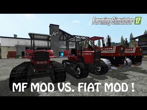 MF MOD VS FIAT MOD in Farming Simulator 2017 | WHO IS THE BEST | PS4 | Xbox One