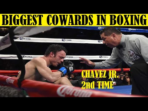 Top 10 Boxers Quitting a Fight & Looking Like Cowards - PART 3
