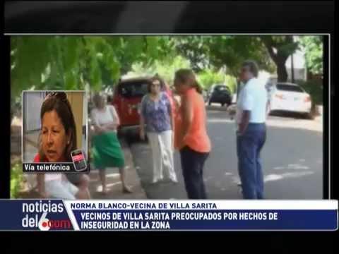 M�s iluminaci�n, patrullajes permanentes y c�maras de seguridad para combatir la inseguridad en Villa Sarita