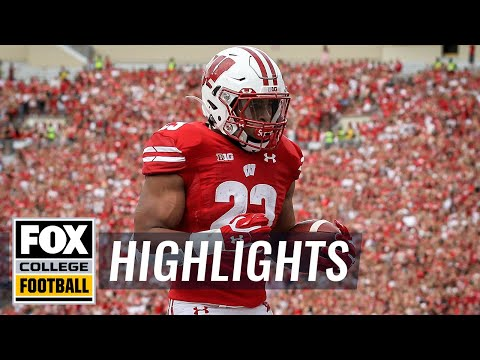 Video: Wisconsin's Jonathan Taylor rips off 72-yard TD run vs. Michigan | FOX COLLEGE FOOTBALL HIGHLIGHTS