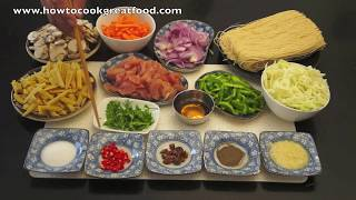 Chinese Chicken Noodle Soup Recipe How To Cook Great Food Asian Cooking